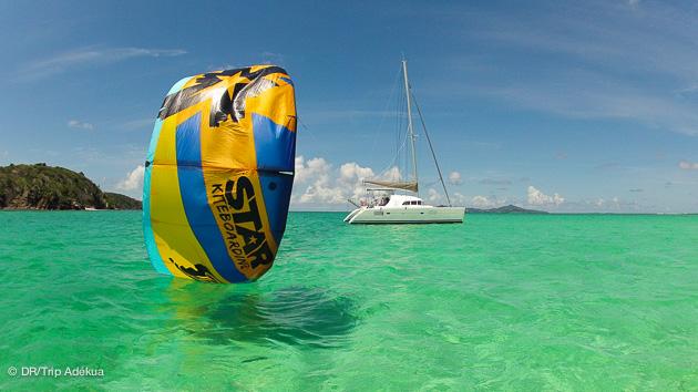 prêt pour une croisière kitesurf aux Antilles ?