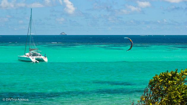 croisière kitesurf au départ de la Martinique