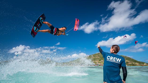 Une croisière de rêve pour progresser en kite aux Grenadines