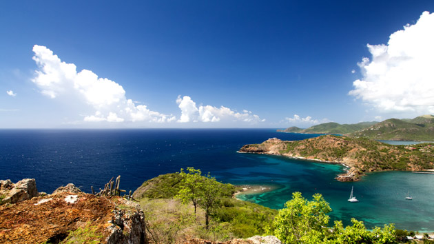 Une croisière kite paradisiaque entre Antigua et Barbuda aux Antilles