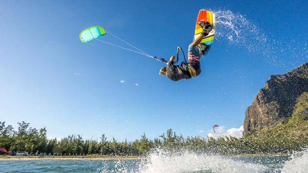 kite à Antigua