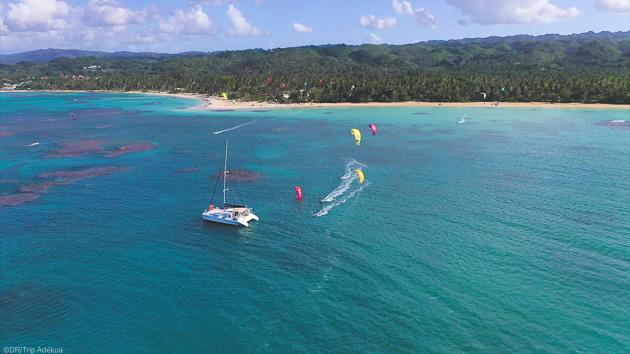 Une croisière kitesurf paradisiaque en République Dominicaine