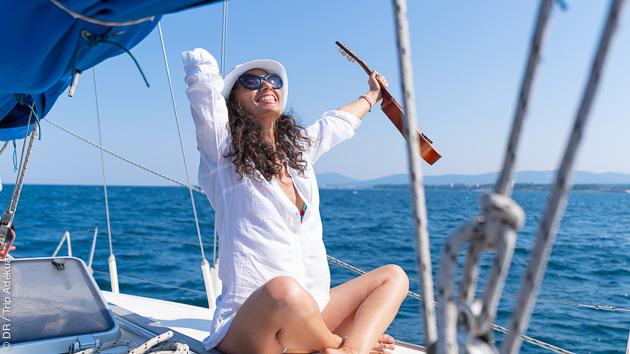 Un kitesurf trip inoubliable en voilier entre Corse et Sardaigne