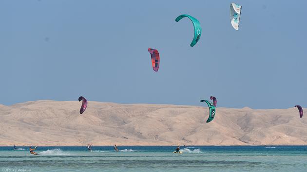 Croisière kite sur les eaux magnifiques de la mer Rouge