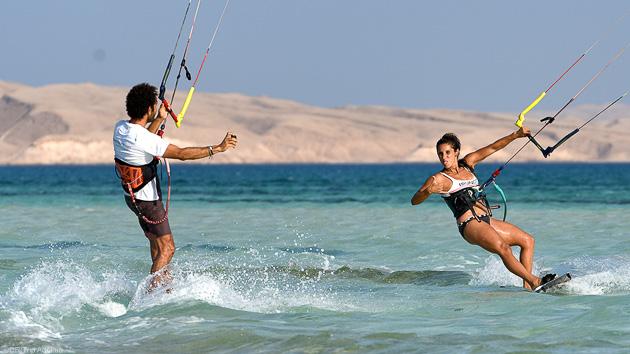 Naviguez en kitesurf sur les plus beaux spots de la mer Rouge en Egypte