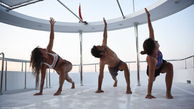 Ue croisière kitesurf et fit camp pour progresser sur les plus beaux spots de mer Rouge