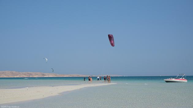 Un séjour kitesurf inoubliable en mer Rouge à bord d'une bateau de croisière