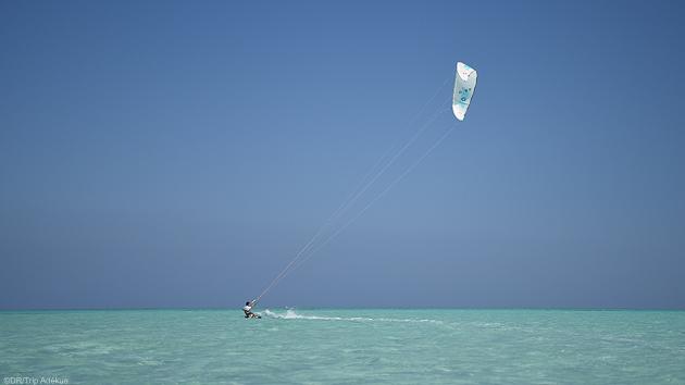 Progressez en kite sur les spots de mer Rouge