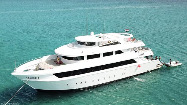 Votre bateau de croisière grand luxe pour un séjour kite de rêve en mer Rouge