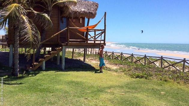 Logé dans des pousadas de luxe, venez kiter sur les spots entre Cumbuco et Jericoacoara