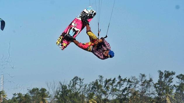 Différents spots à découvrir et un coaching kite d'une journée avec un rider pro freestyle