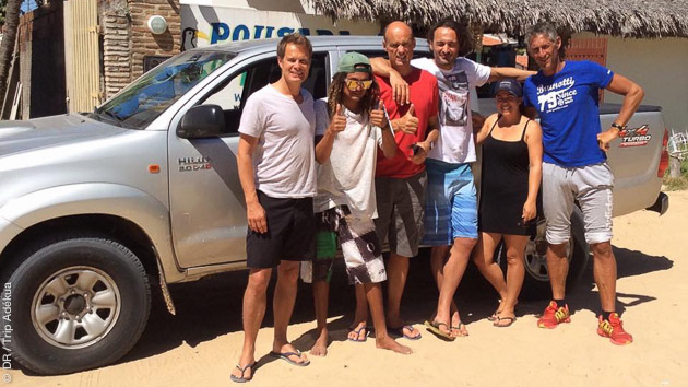 Road trip en 4X4 pour découvrir les spots de kite du Nordeste Brésil