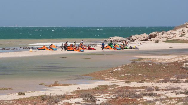 Progressez sur les meilleurs spots de la lagune de Dakhla