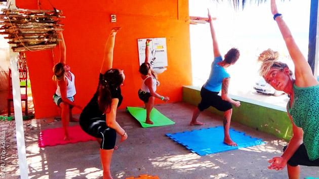 Après le kite et le stretching, profitez de votre séjour à Lagoinha pour découvrir les activités proposées : capoeira, samba et caipirinhas !
