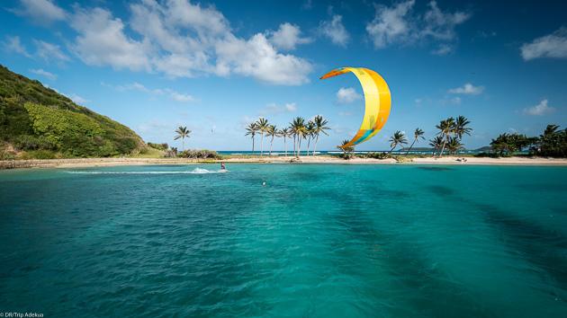 Kitesurf et spots de rêve dans les Caraïbes