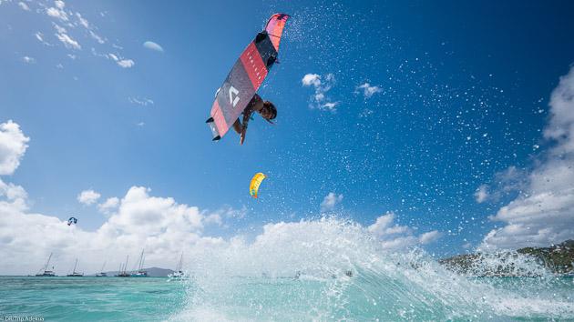 Un séjour kite de rêve dans les Caraïbes