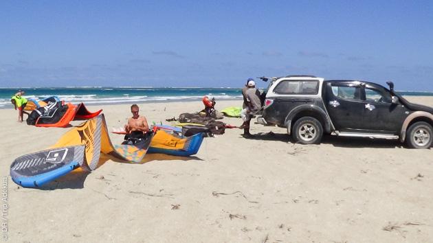 12 jours de kite intense, sur les meilleurs spots de Madagascar