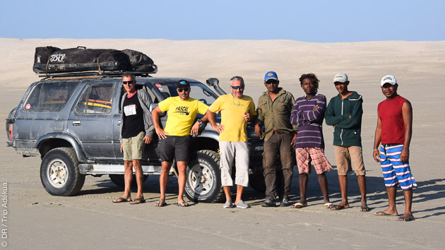 Sensations kite pendant ce road trip à Madagascar