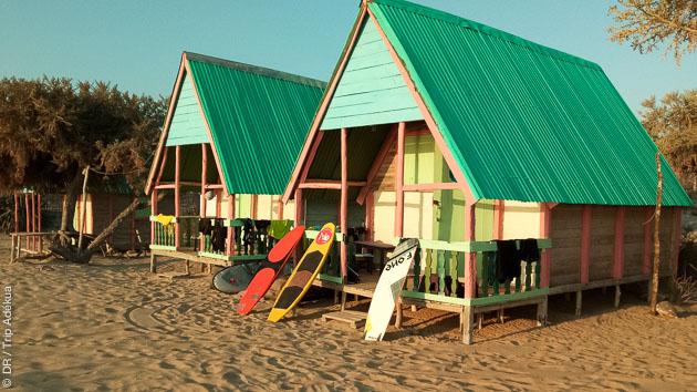 Circuit kitesurf dans le sud de Madagascar avec hébergement en guest house et bivouac