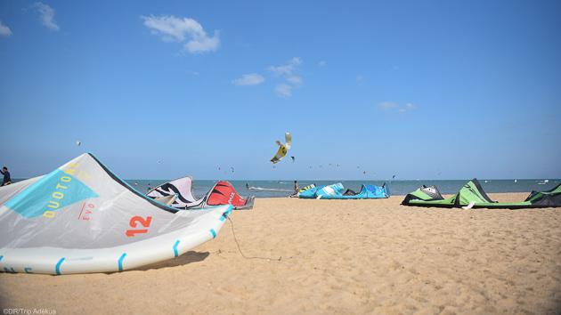 Progressez sur les meilleurs spots de kitesurf de mer Rouge