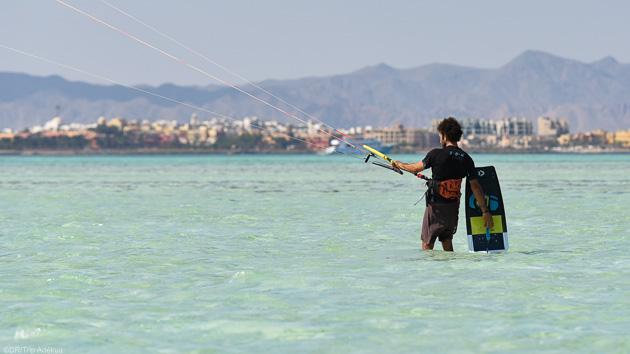 Naviguez en kitesurf dans les meilleures conditions à El Gouna