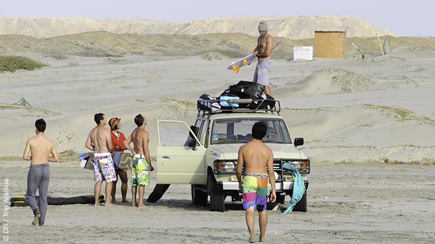 Des sessions kite inoubliables sur les spots péruviens autour de Mancora