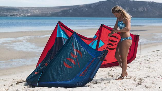 la lagune du Delta de l'Ebre est parfaite pour le kitesurf