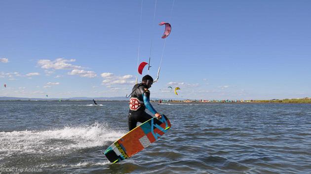 kite à Ruimar en espagne