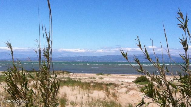 du sable, et du vent dans un parc naturel pour votre weekend kite en espagne