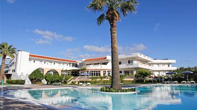 votre hotel tout confort pour votre stage de kite surf à Rhodes