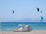 Votre stage d'initiation ou de perfectionnement au kitesurf à Rhodes - voyages adékua