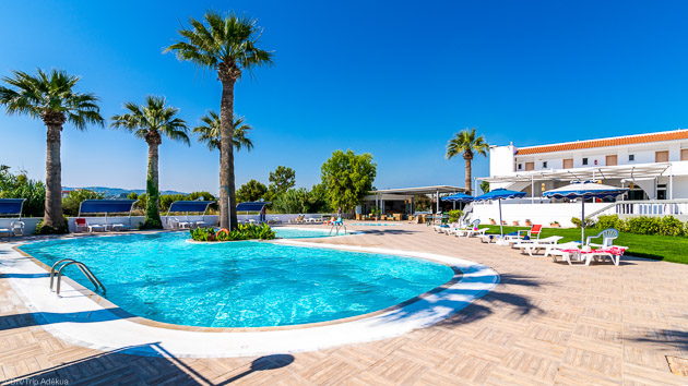 Votre hotel tout confort pour votre stage de kitesurf à Rhodes