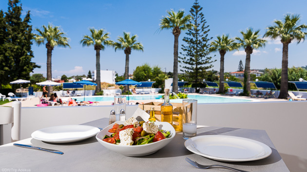 Votre hébergement tout confort face à la mer à Rhodes en Grèce