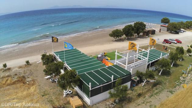 Votre école de kitesurf à Rhodes en Grèce