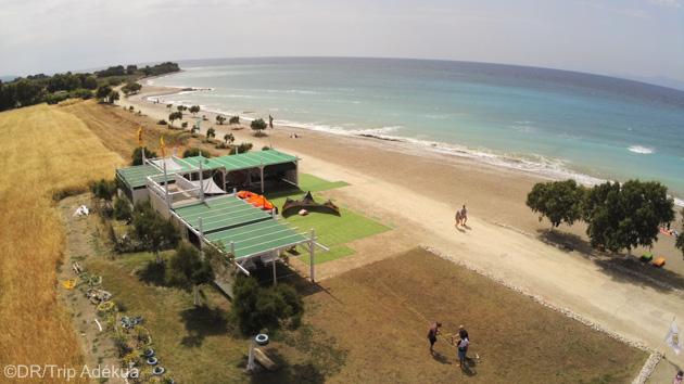Un séjour kite avec cours de kite et hébergement tout confort en Grèce