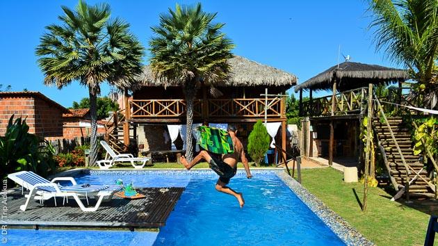 Votre hébergement en pousada pendant ce séjour kite à Lagoinha