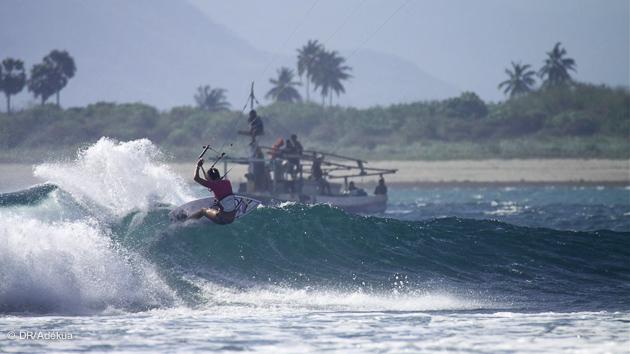 nungas la meilleure vague du monde pour le kite waveriding