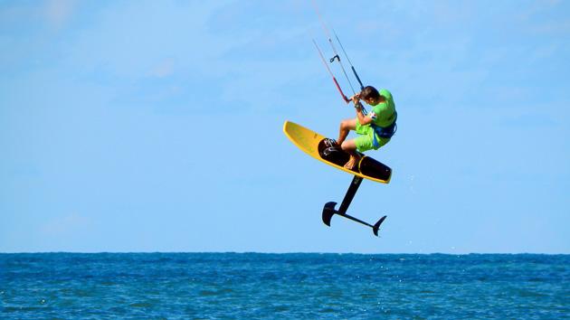6 heures de cours d'hydrofoil pour un séjour kite de rêve