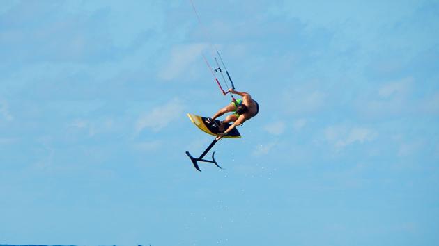 Un séjour kite à Las Terranas pour progresser en hydrofoil