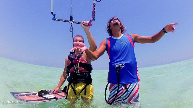 votre cours de kitesurf privé à el gouna
