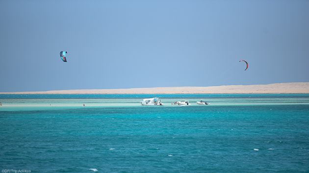 Progressez sur les plus beaux spots de kitesurf de El Gouna en Egypte