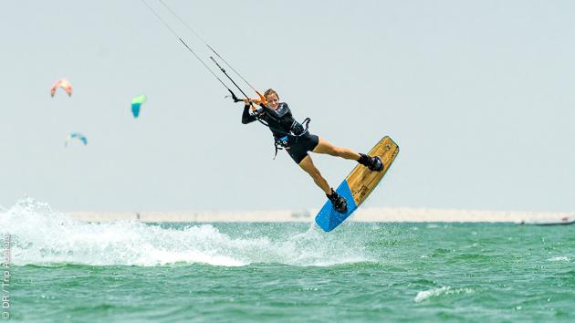 Progressez en kitesurf sur la lagune de Dakhla