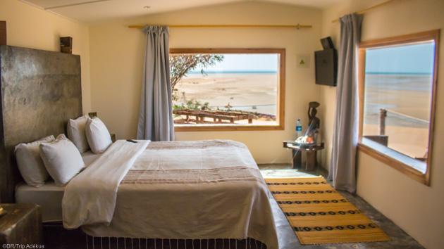 Des bungalow tout confort face à la mer à Dakhla au Maroc