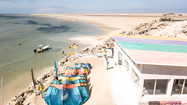 kitesurf camp hôtel pour votre séjour kitesurf à Dakhla