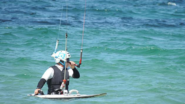 Dépose en mer et matériel de kitesurf inclus pour votre formule séjour