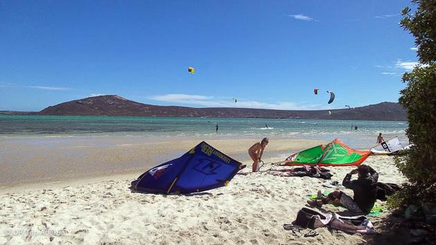 belles plages et bon vent pour apprendre le kitesurf à Cape Town