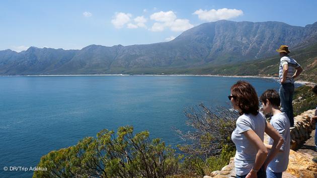 les paysages de la péninsule de Cape Town sont magnifiques