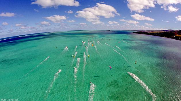 Vos vacances kites sur des spots paradisiaques à Rodrigues