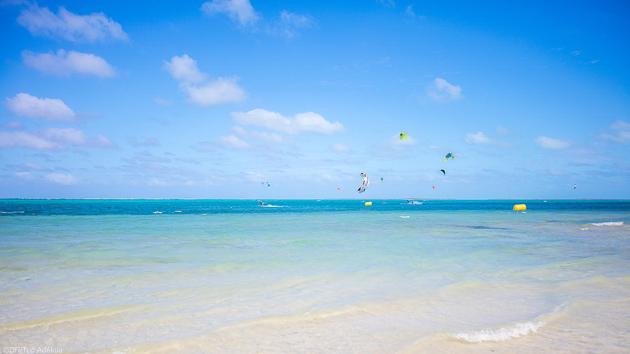 Venez kiter les plus beaux spots de Rodrigues dans l'océan Indien