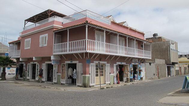 Un séjour kitesurf avec logement dans une pension capverdienne, près du village de Santa Maria
